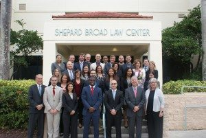 Photo of legal aid attorneys at trial skills training.