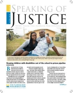 Speaking of Justice - Spring 2018. The Florida Bar Foundation online Speaking of Justice Spring 2018