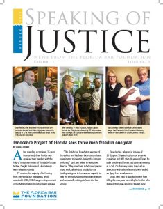 Speaking of Justice - Winter 2019 (PDF)